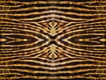 Reticolo della pelle della zebra Fotografia Stock