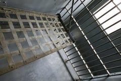 Reticolo della prigione Fotografie Stock