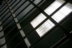 Reticolo della prigione Fotografia Stock Libera da Diritti