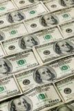 Reticolo della priorità bassa dei soldi Immagini Stock