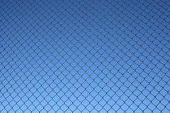 Reticolo della rete fissa di collegamento Chain Immagini Stock