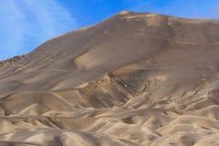 Reticolo della sabbia del vocano Fotografie Stock