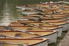 Modello delle barche Immagini Stock