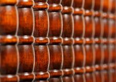 Reticolo delle barre di legno Immagine Stock