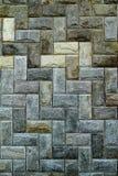Reticolo delle mattonelle della parete di pietra Immagine Stock Libera da Diritti