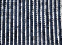 Reticolo delle mattonelle di tetto Immagine Stock