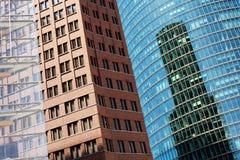 Reticolo delle pareti delle costruzioni Fotografia Stock Libera da Diritti
