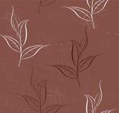 Reticolo delle piante di tè royalty illustrazione gratis