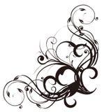 Reticolo delle viti e del fiore royalty illustrazione gratis