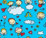 Reticolo di amore illustrazione di stock