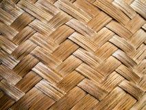 Reticolo di bambù del tessuto Immagine Stock