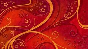 Reticolo di colore rosso della priorità bassa di natale Immagini Stock