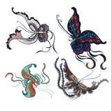 Reticolo di farfalla illustrazione vettoriale