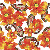 Reticolo di fiore Fotografia Stock