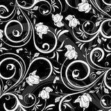 Reticolo di fiore astratto Fotografia Stock