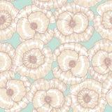 Reticolo di fiore del papavero illustrazione vettoriale