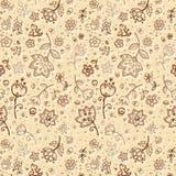 reticolo di fiore dell'Mano-illustrazione Fotografie Stock Libere da Diritti