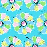 Reticolo di fiore senza giunte Immagine Stock