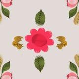 Reticolo di fiore senza giunte illustrazione vettoriale