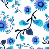Reticolo di fiore senza giunte royalty illustrazione gratis