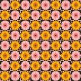 Reticolo di fiore senza giunte immagini stock libere da diritti