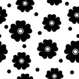 Reticolo di fiore senza giunte Immagini Stock