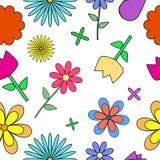 Reticolo di fiori Immagini Stock Libere da Diritti