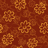 Reticolo di fiori Fotografie Stock