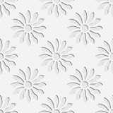 Reticolo di fiori senza giunte Immagini Stock