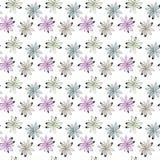 Reticolo di fiori senza giunte Fotografia Stock Libera da Diritti