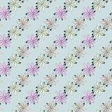 Reticolo di fiori senza giunte Immagine Stock