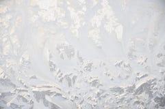 Reticolo di gelo. Immagini Stock