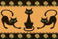 Reticolo di Halloween Fotografia Stock