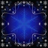 Reticolo di inverno illustrazione vettoriale