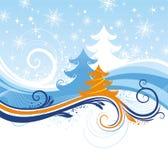 Reticolo di inverno Immagini Stock