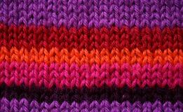 Reticolo di lavoro a maglia Fotografie Stock