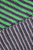 Reticolo di lavoro a maglia del filato di lana Fotografia Stock Libera da Diritti