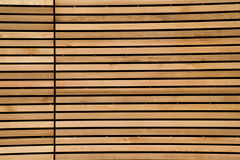 Reticolo di legno Fotografia Stock