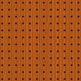 Reticolo di legno con i cerchi Fotografia Stock