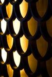 Reticolo di legno intagliato Fotografia Stock Libera da Diritti