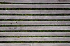 Reticolo di legno orizzontale Fotografia Stock