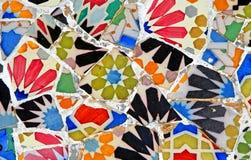 Reticolo di mosaico casuale Fotografia Stock