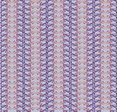 Reticolo di mosaico descritto floreale senza giunte Immagini Stock Libere da Diritti
