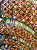 Reticolo di mosaico dettagliato Fotografia Stock Libera da Diritti