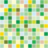 Reticolo di mosaico di primavera illustrazione di stock