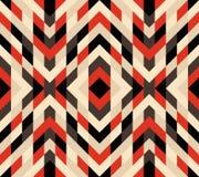 Reticolo di mosaico senza giunte Priorità bassa geometrica Illustrazione di vettore illustrazione vettoriale