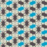 Reticolo di mosaico senza giunte Priorità bassa geometrica Illustrazione di vettore royalty illustrazione gratis