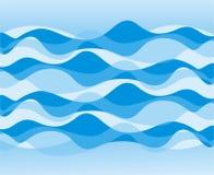 Reticolo di onda Immagini Stock