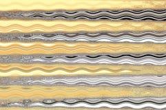 Reticolo di onda astratto Fotografia Stock Libera da Diritti