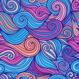 Reticolo di onda senza giunte Immagine Stock